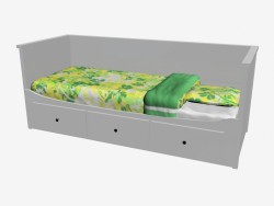 Day bed with 3 drawers