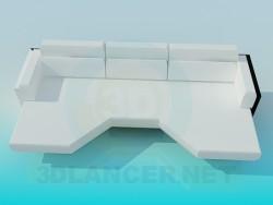 Excéntrico sofá