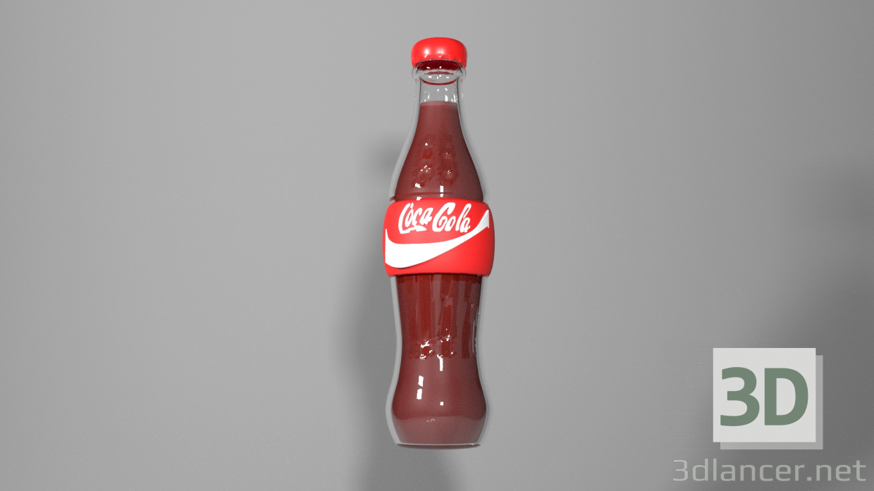 3d model cola - preview