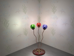 "Floor lamp ""Starfish"""