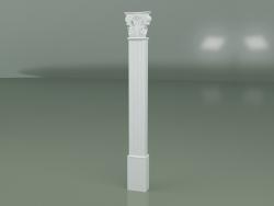 Pilastre en plâtre PL004