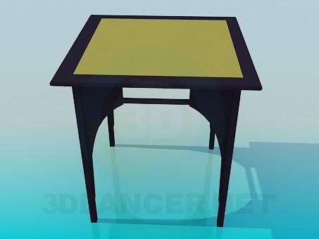 3d модель Столик – превью