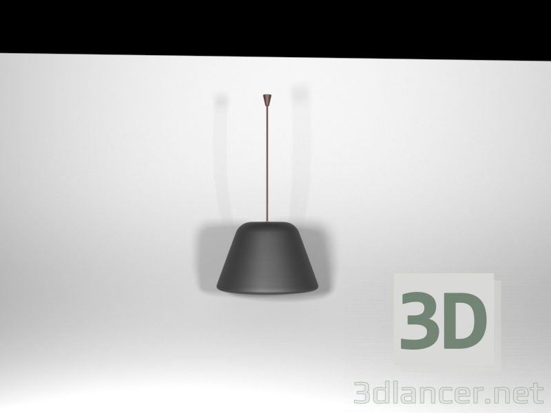 3d model Simple lamp - preview