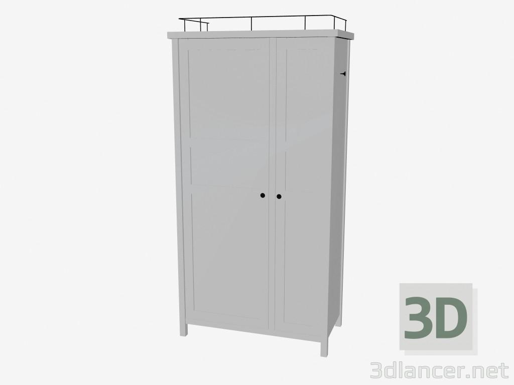 modèle 3d garde-robe du producteur ikea hemnes id 16199