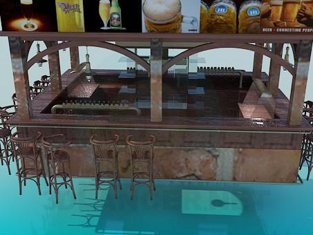 3d model Brasserie - preview