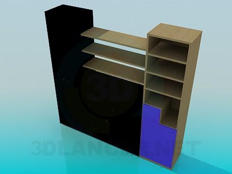 3d model Shelve - preview