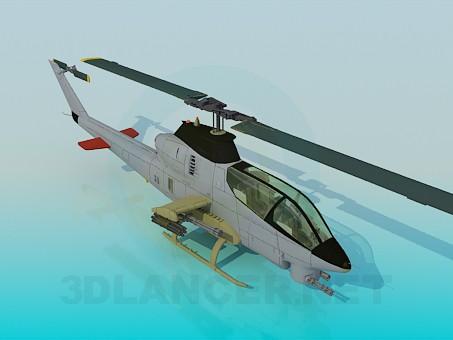 3d model AH 12 - preview
