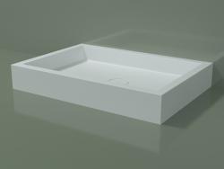 Plato de ducha Alto (30UA0118, Glacier White C01, 100x70 cm)