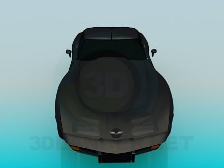 3d model Corvette 1979 - preview