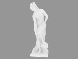 Scultura in marmo Bather, chiamata anche Venere