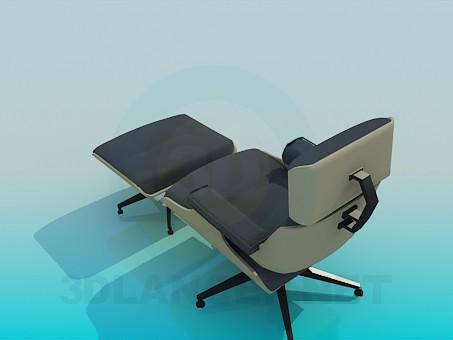 3d модель Крісло трансформер – превью