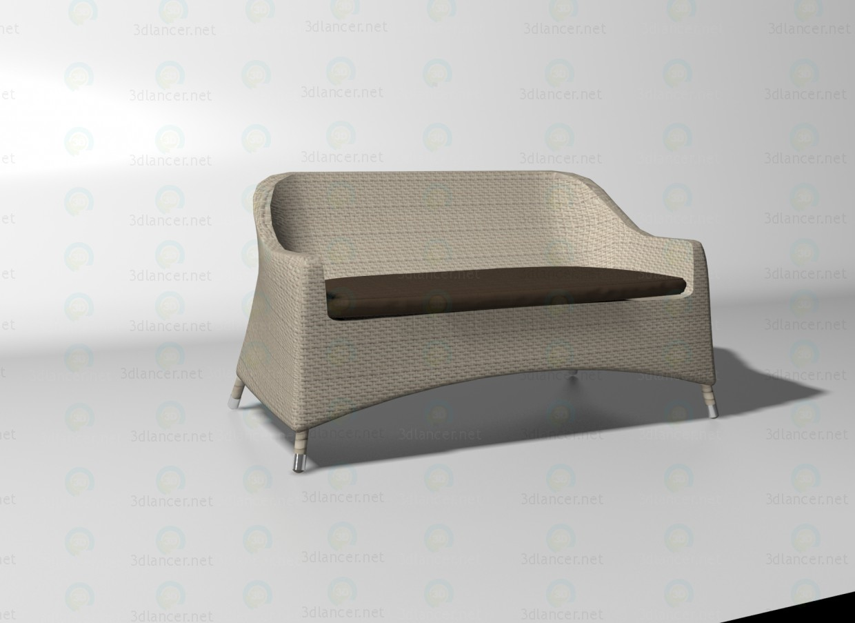 3d model Cancun sofa - preview