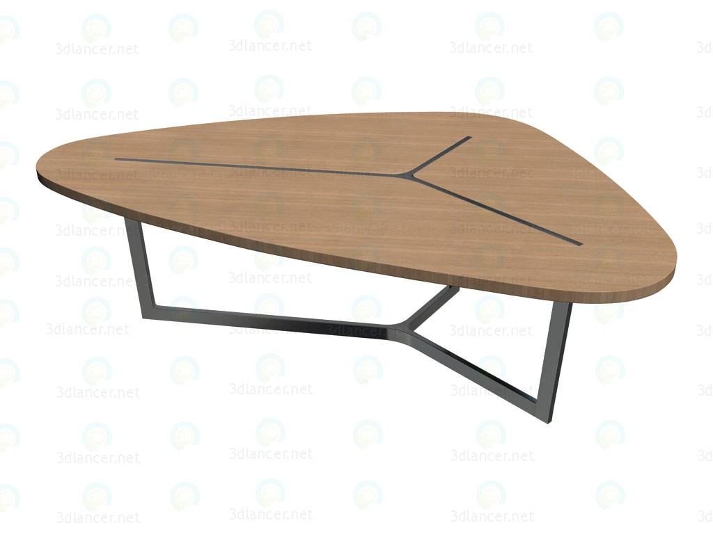 3d model dining table ts234 b b italia collection seven for Dining table models