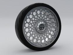 Rueda 16' c/Rin de Aluminio Toyota