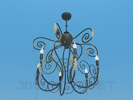 3d model lustre - preview