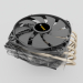3d CPU cooling DARK ROCK TF model buy - render
