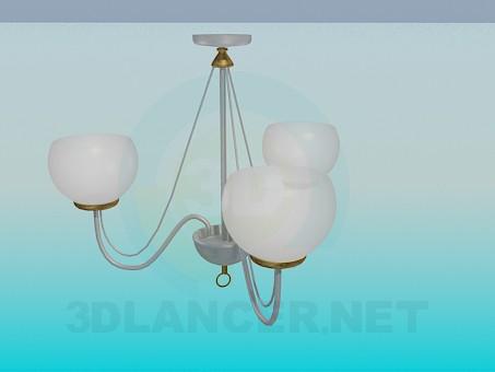 3d модель Класична люстра – превью