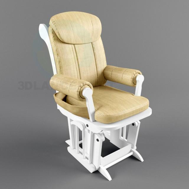 3D modeli Sallanan sandalye - önizleme