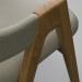 3d Dining Chair model buy - render