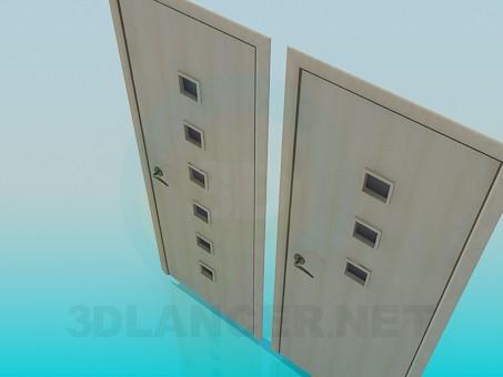 3d модель Двери – превью