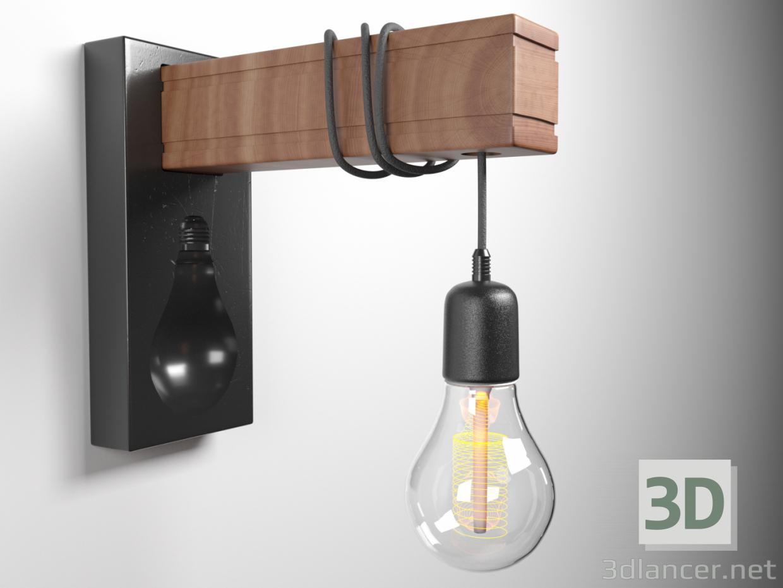 3d model Wall Light - preview