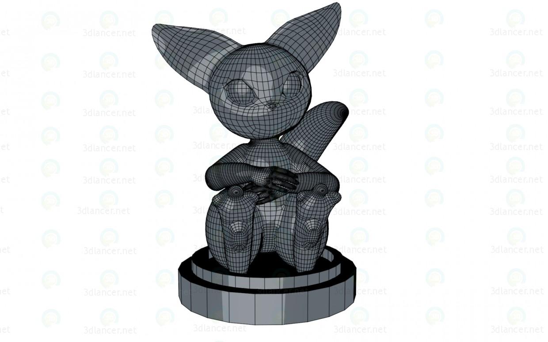 Peón (pieza de ajedrez) 3D modelo Compro - render