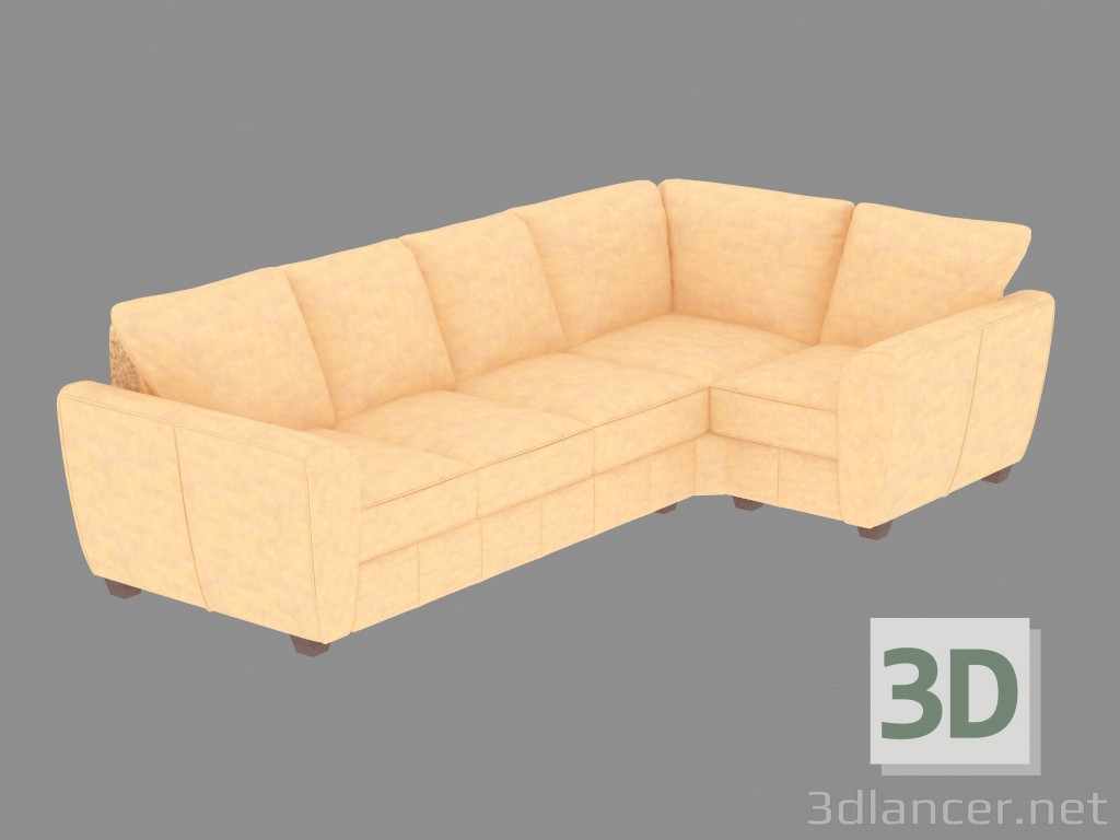 Modelo 3d sof de esquina 3c1 del fabricante pohjanmaan goa id 19201 - Sofas de esquina ...