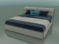 Double bed Limura under the mattress 2000 x 2000 (2240 x 2250 x 940, 224LIM-225)
