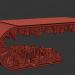 3d model Table Сyberpunk - preview