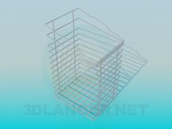 Shopping cart-stand per forniture per ufficio