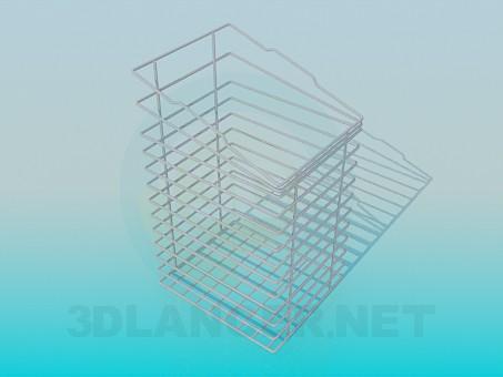 3d моделювання Кошик-підставка для канцелярських товарів модель завантажити безкоштовно