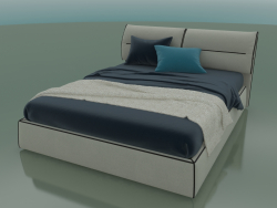 Double bed Limura under the mattress 1600 x 2000 (1840 x 2250 x 940, 184LIM-225)