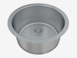Steel kitchen sink Arabeska (ZAA-010D 67968)