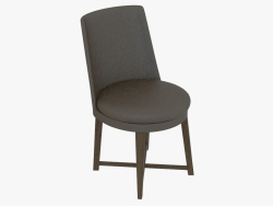 Chair on the wooden frame Sedia
