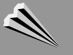 Cornice C602 (200 x 5.3 x 5 cm)