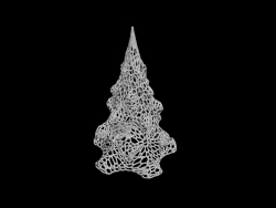 Christmas tree voronoi