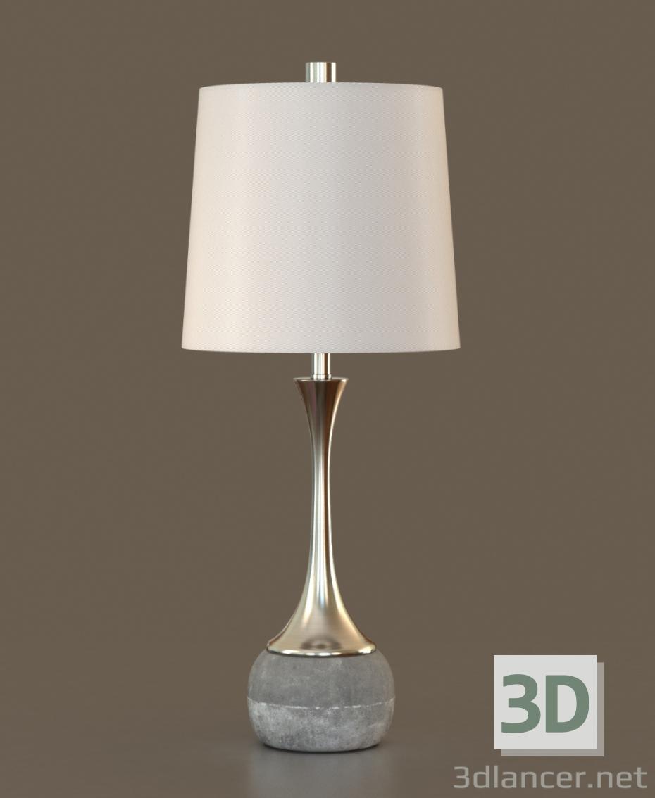 3d Table lamp - floor lamp model buy - render