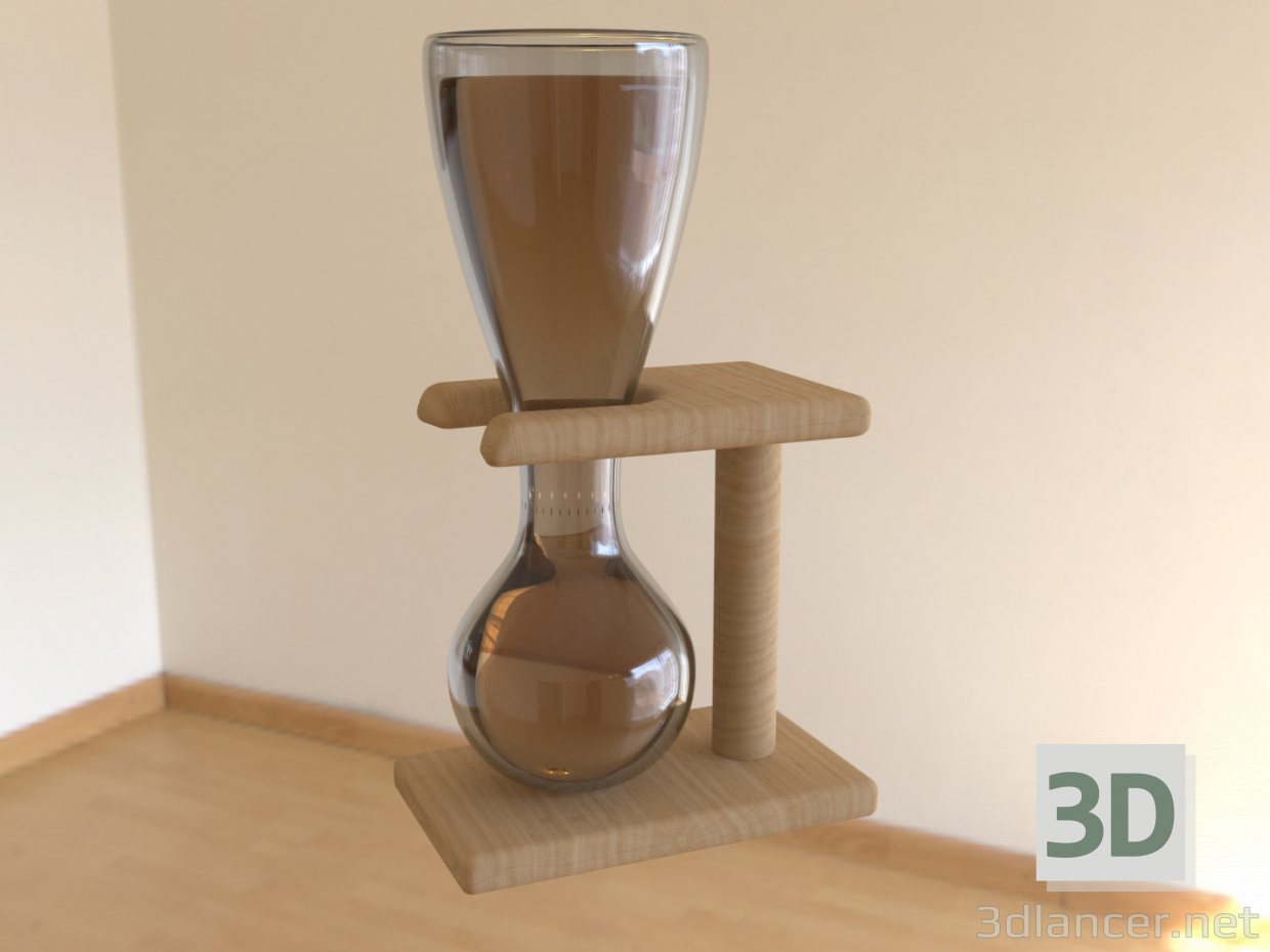 3d model Beer Glass - preview