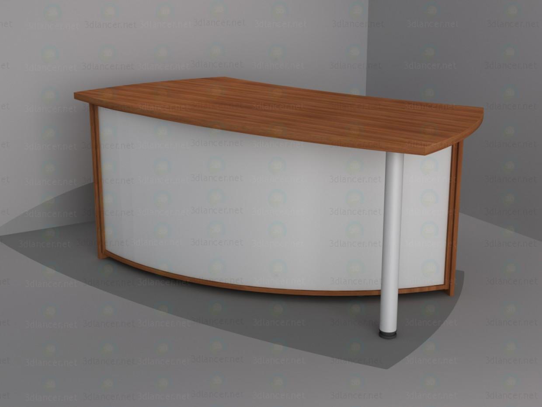 3d модель Стол менеджера 1 – превью