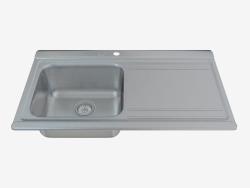 Sonatina cocina fregadero de acero (ZAS-011L 90788)