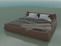 Double bed Dionigi under the mattress 2000 x 2000 (2760 x 2850 x 760, 276DI-285)