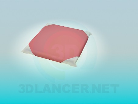 3d model Pillow for stool - preview