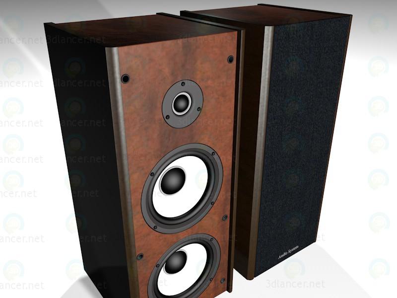 3d модель Аудіосистема – превью