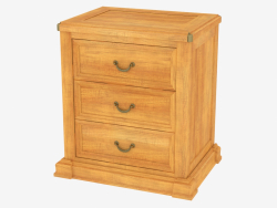 Bedside table in classic style