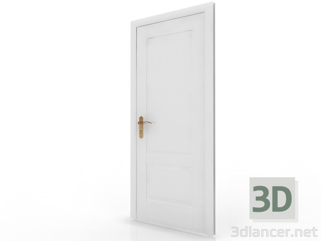 3d model Interroom door 1 - preview