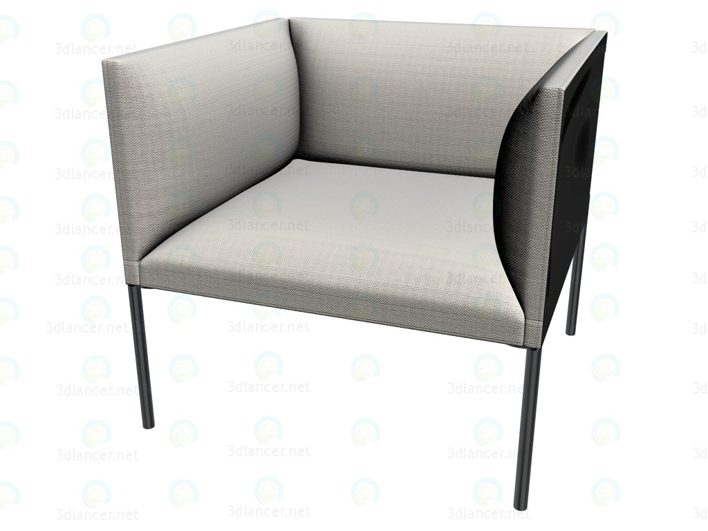 3d model Chair HO71 - preview