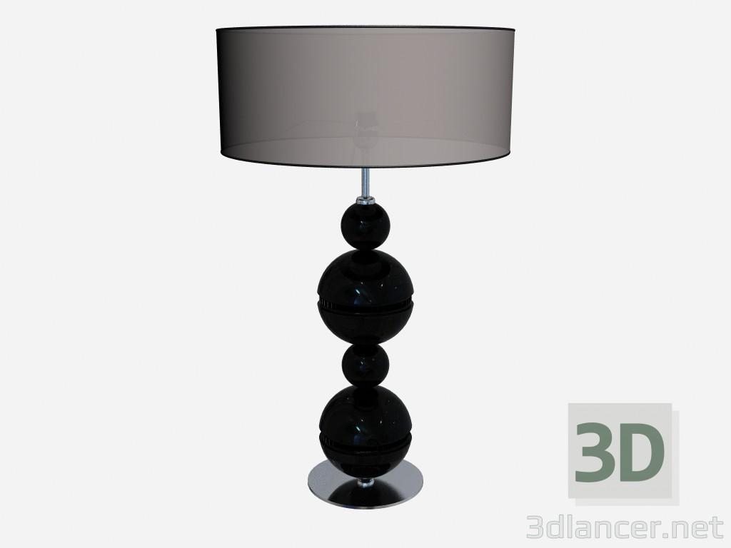 3d model Lamp Black lamp - preview