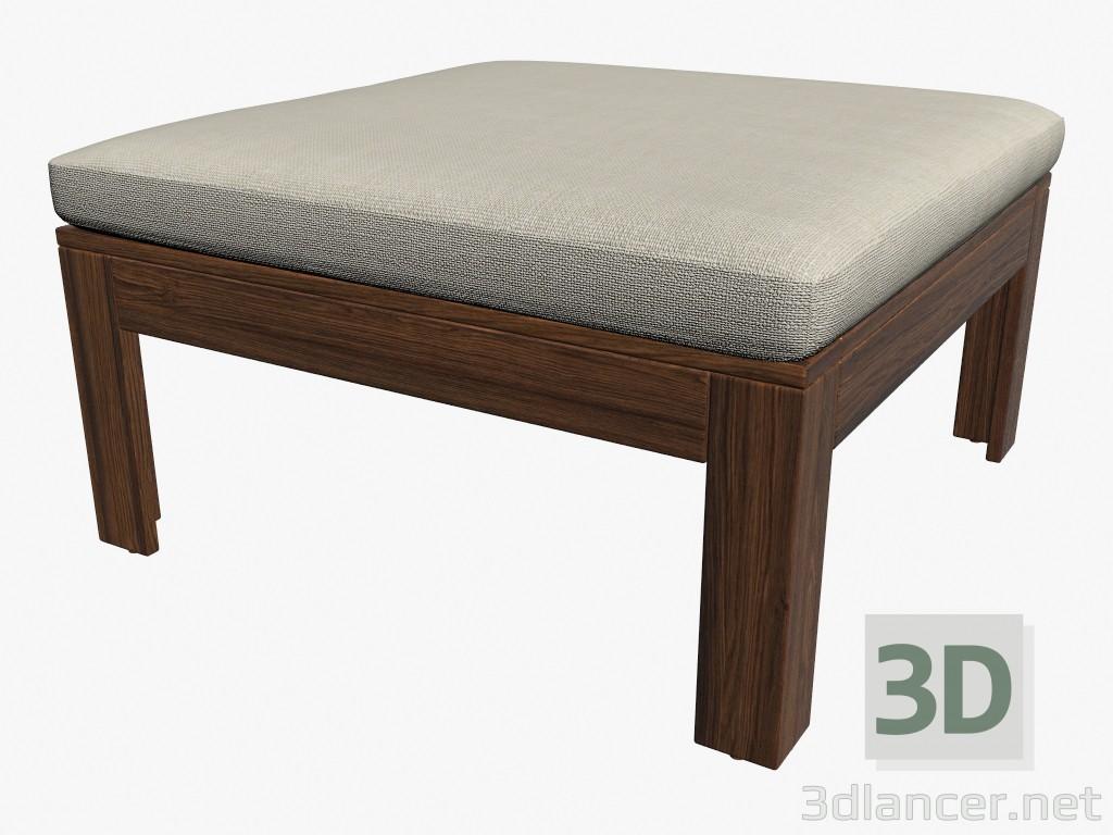 3d modella tavolo sgabello con cuscino sezione dal produttore ikea