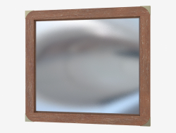 Mirror with decor