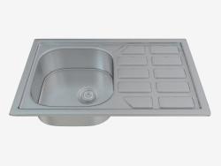 Fregadero de la cocina del alma de acero (ZEO-0113 16185)